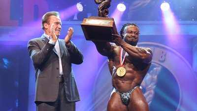 William Bonac Wins 30th Arnold Classic In Columbus Debut
