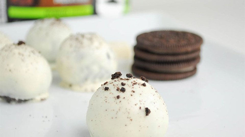 White Chocolate Oreo Truffles