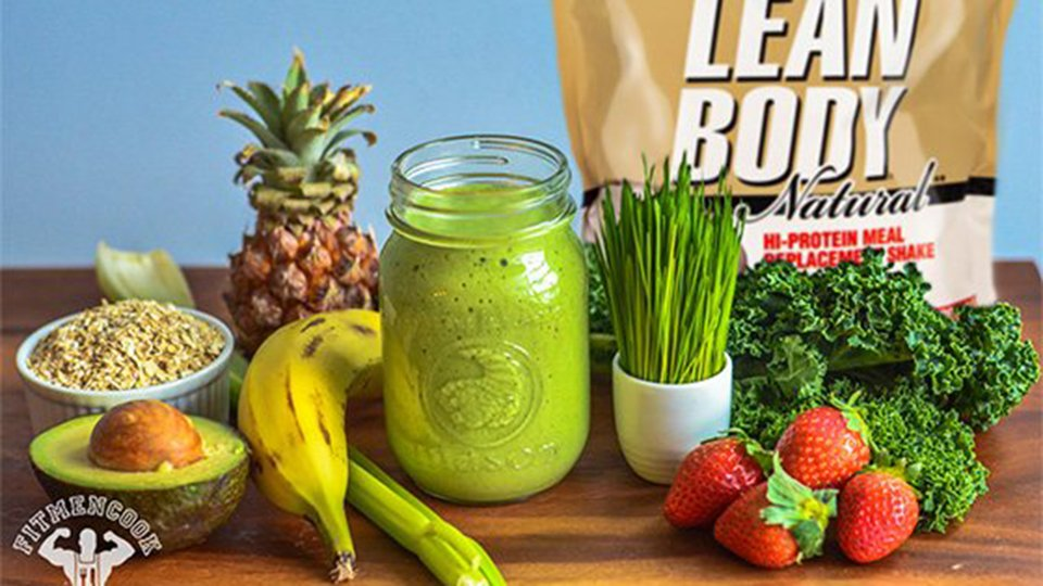 Lean and Green Meal Replacement Smoothie