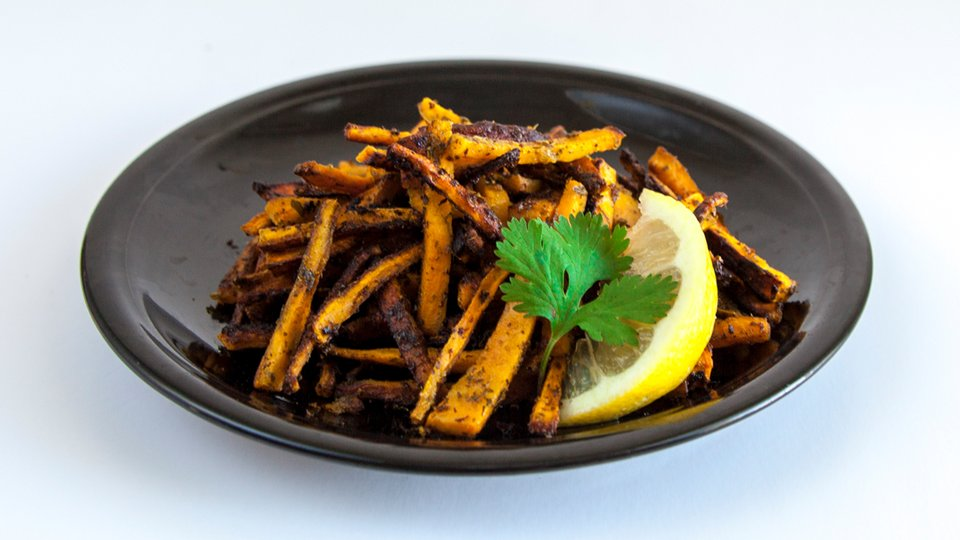 Cilantro And Lemon Sweet Potato Fries