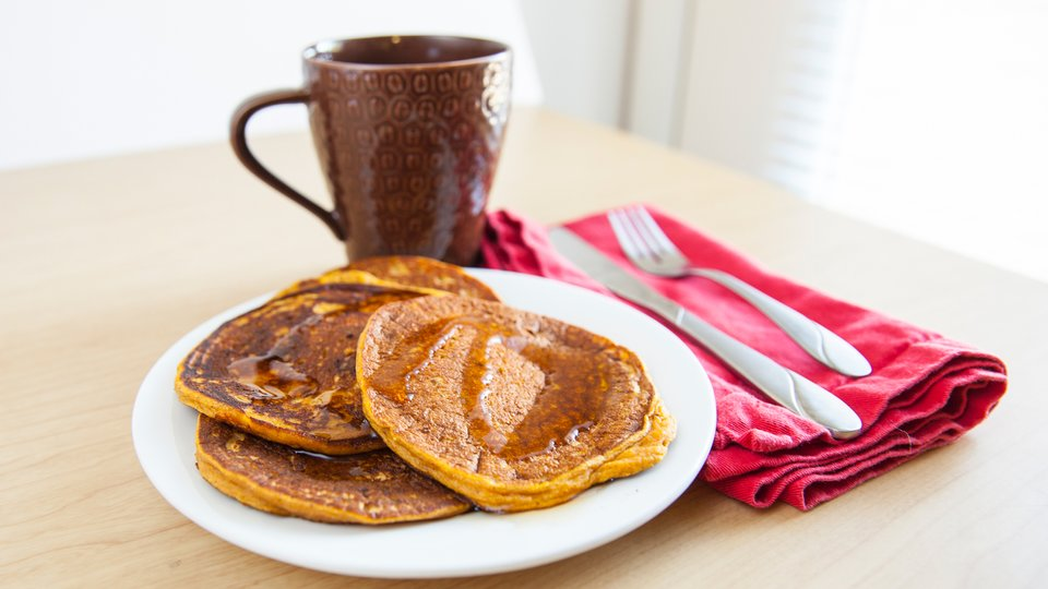 Easy Sweet Potato Pancakes