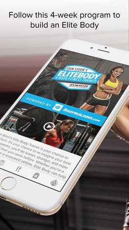 Elite Body mobile app