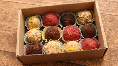 Healthy Recipes: 4 Gourmet Whey Protein Truffles banner