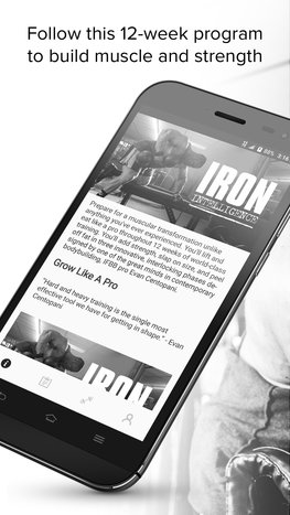 Iron Intelligence mobile app