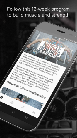 Gethin Muscle-Building app