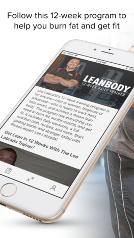 Lean Body Trainer app
