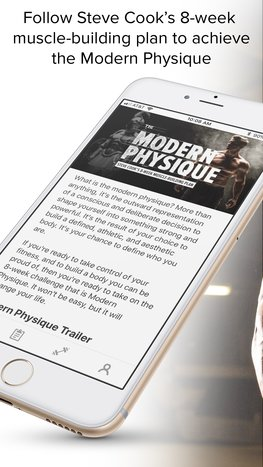 Modern Physique mobile app