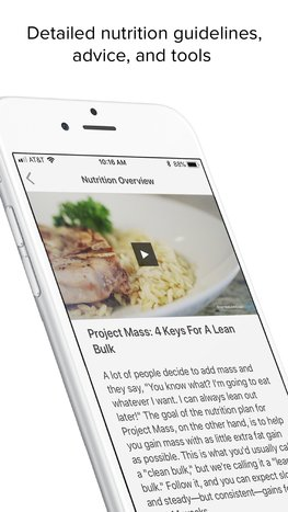 Project Mass mobile app