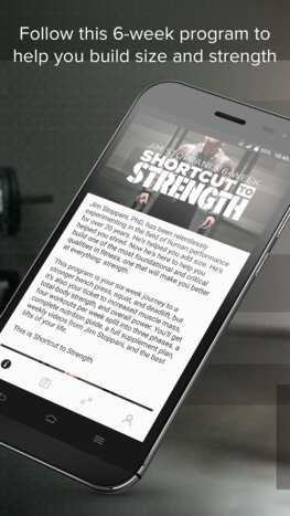 Shortcut To Strength app