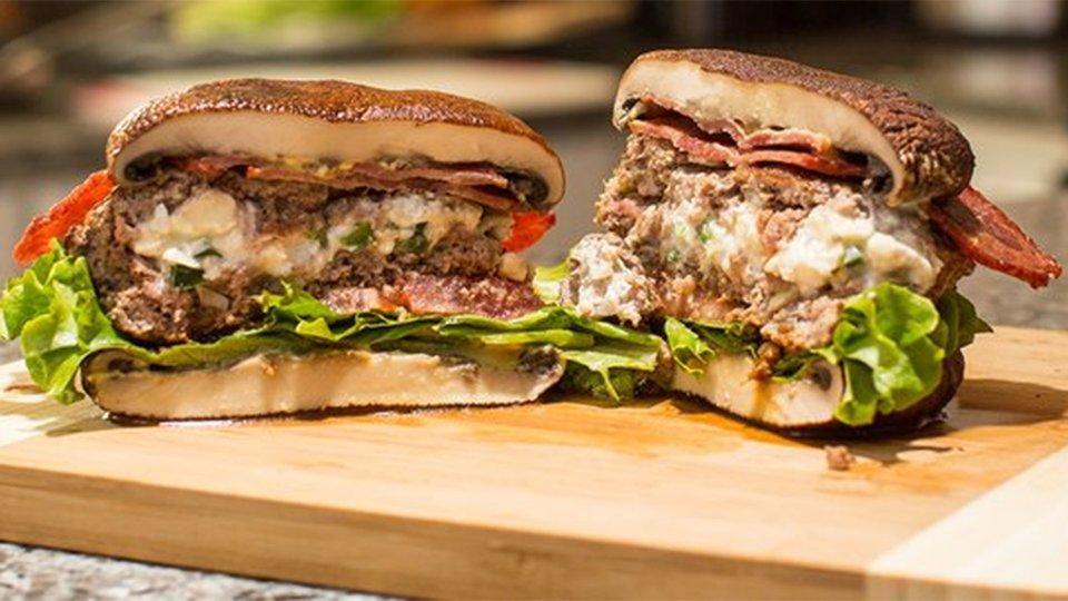 Smokin' Jalapeno Popper Burger
