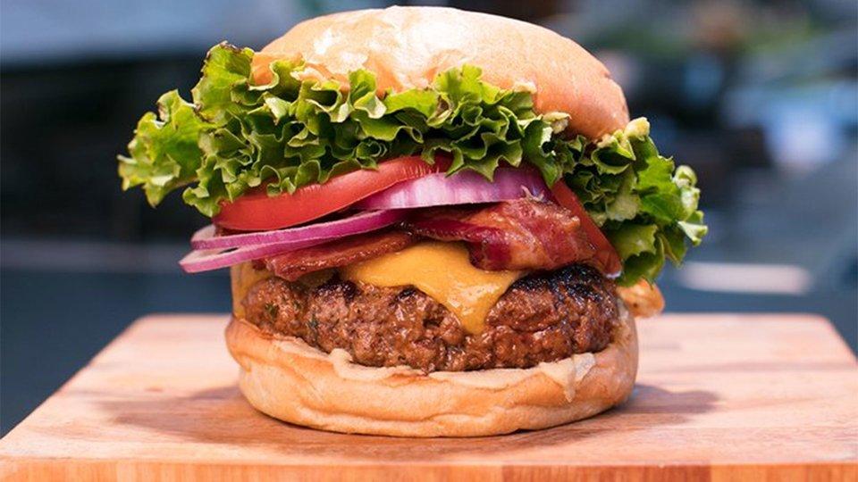 Thyme-Less Gains Burger