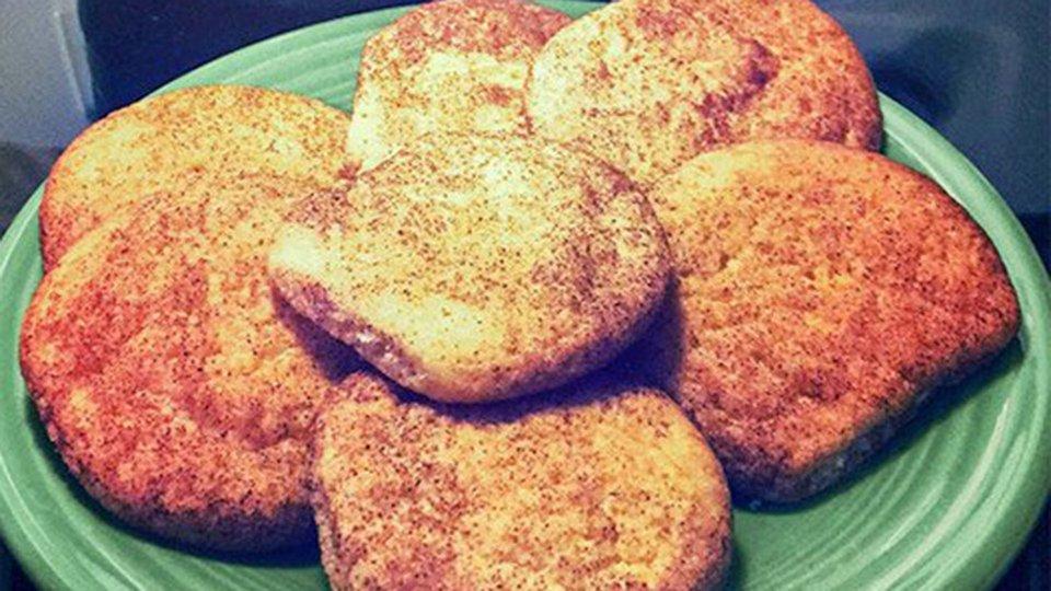 Cinnamon Snickerdoodle Cookies