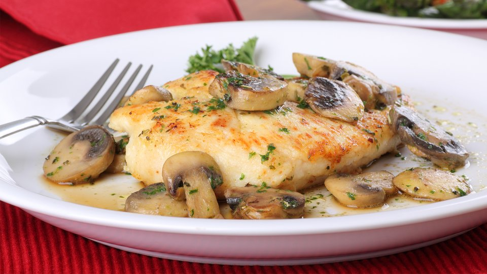 Workout Chicken and White Wine Sauce