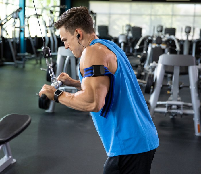 Overhand Triceps Push-down