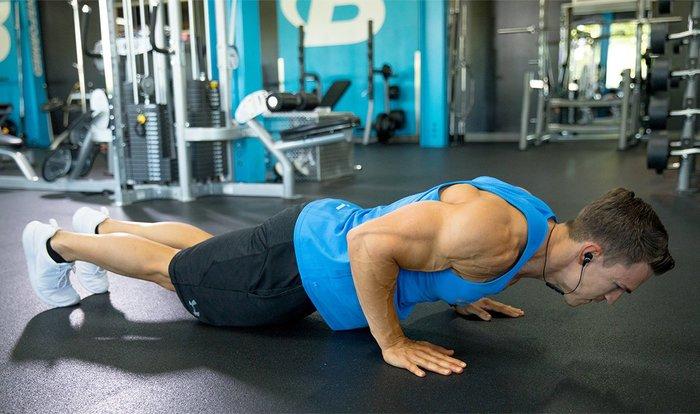大胸筋の筋トレポイント:自分の体重を使ってみる