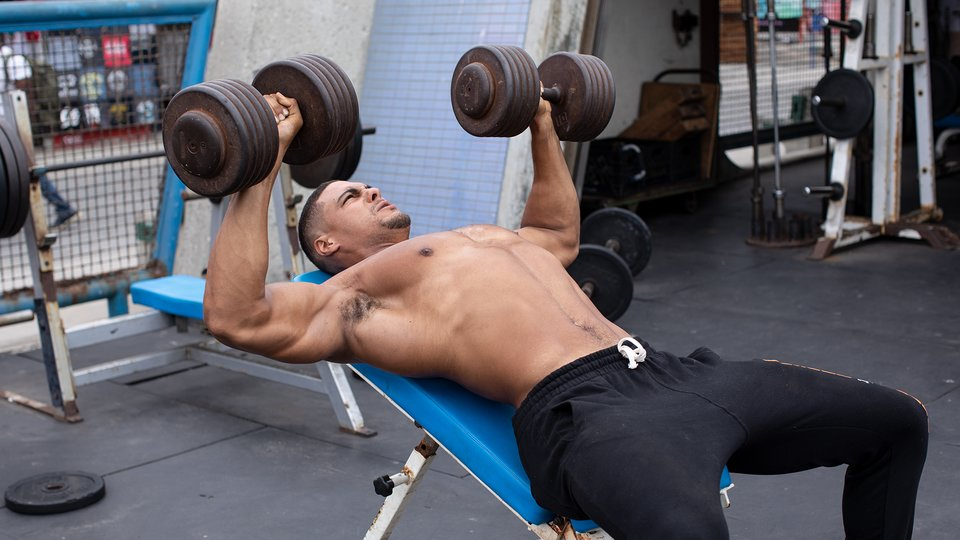 Ike Catchers Chest And Shoulder Workout
