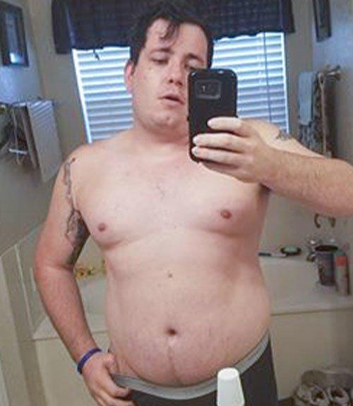 Ryan Brock Transformation Before