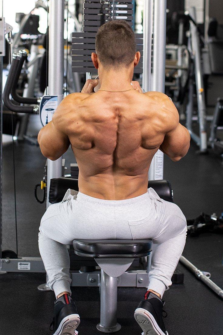 Abel Albonetti S Workout For Back Annihilation