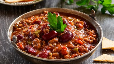 Ask The Muscle Cook: Do You Have A Healthy Recipe For Firehouse Chili? banner