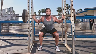 Boardwalk Wheels: The Muscle Beach Leg Workout