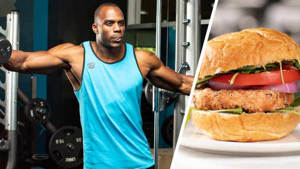 Everyday Beast: Salmon Burger and Shoulder Workout