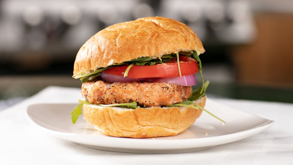 Everyday Beast Grilled Salmon Burger