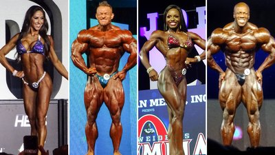 2018 IFBB Olympia Contest Results