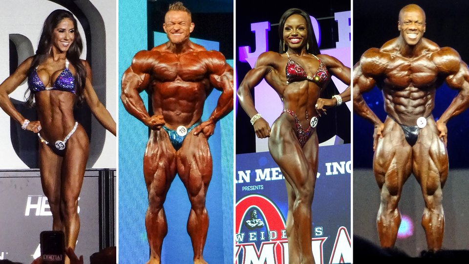 2018 IFBB Olympia Results