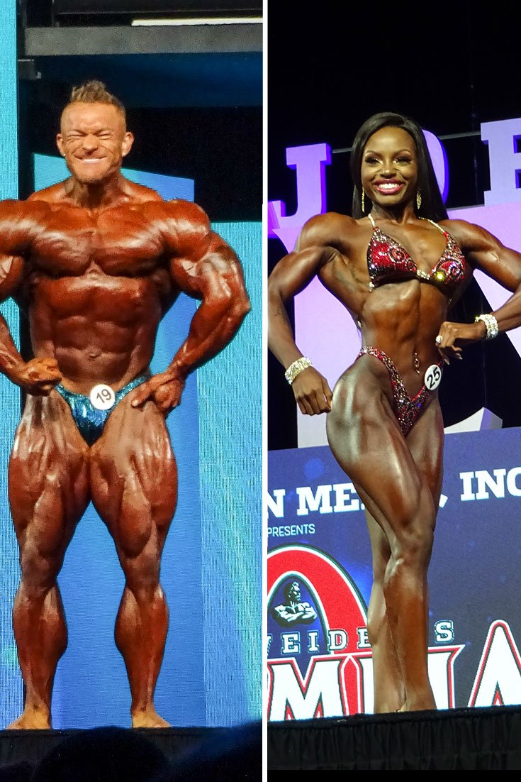 2018 Ifbb Olympia Contest Results Bodybuilding Com