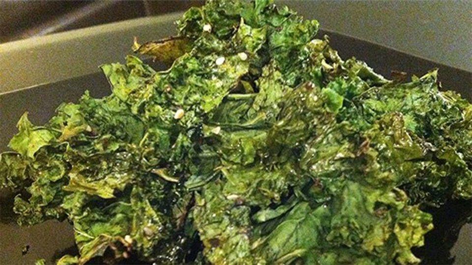 Sesame Soy Kale Chips