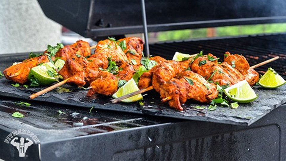 Spicy Tex-Mex Lime Chicken Kabobs