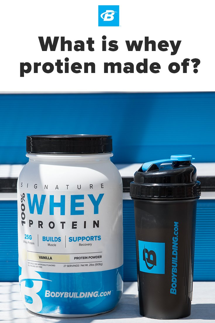 what is whey protein made of