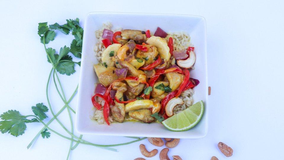 Curry Chicken Banana Stir-Fry