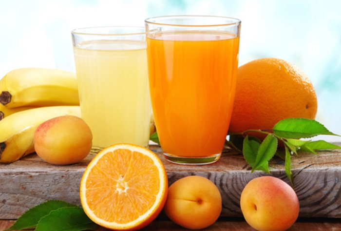 The juicing process removes the dietary fiber and leaves mostly sugar.