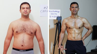 Mostafa Yousri Lost 75 Pounds and 18 Percent Body Fat