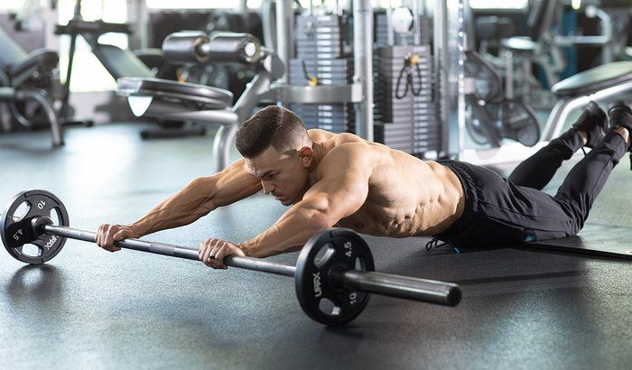 Barbell Roll-out