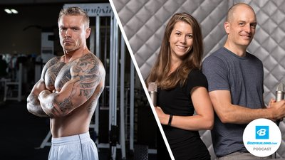 Podcast Episode 79 - From Broken to Ripped: How Bands Rebuilt This Former Bodybuilder into a Self-Made Icon