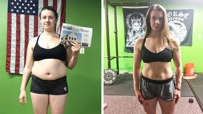New Mom Haley Brennan Traded Binge Eating for Healthy Balance