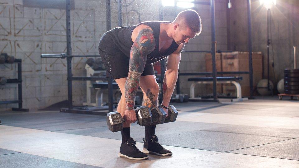 Jay Maryniak Workout: Dumbbell Bodyweight Blaster