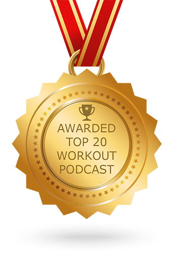Top 20 Workout Podcasts Award