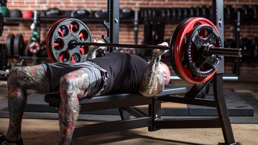 Jim Stoppani Bench Pressing