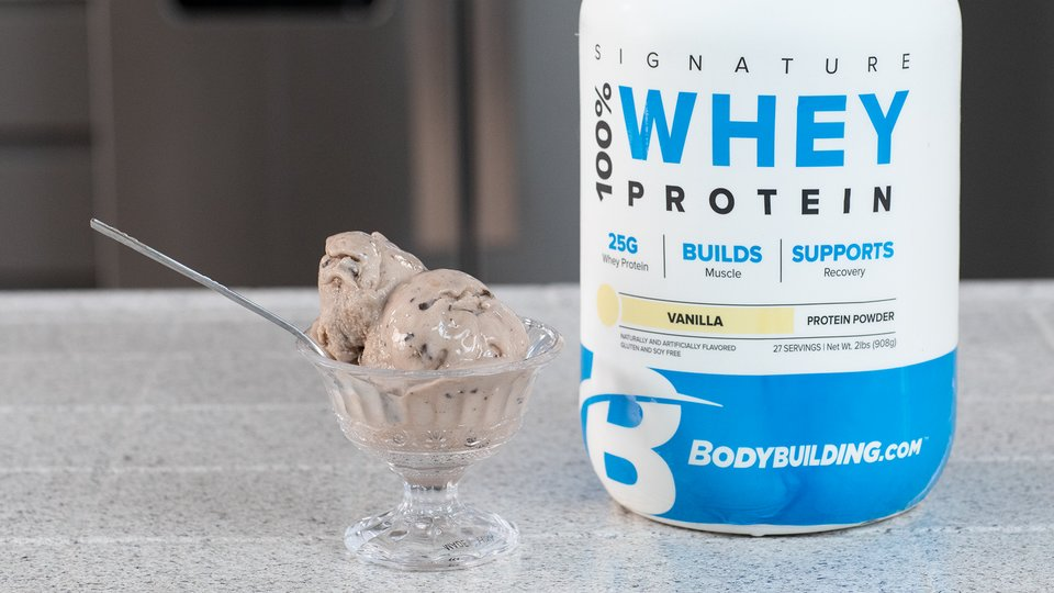 Cookies and Cream Protein Ice Cream
