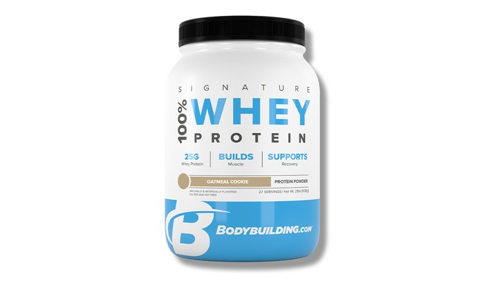 Bodybuilding.com Signature Oatmeal Cookie Protein Powder
