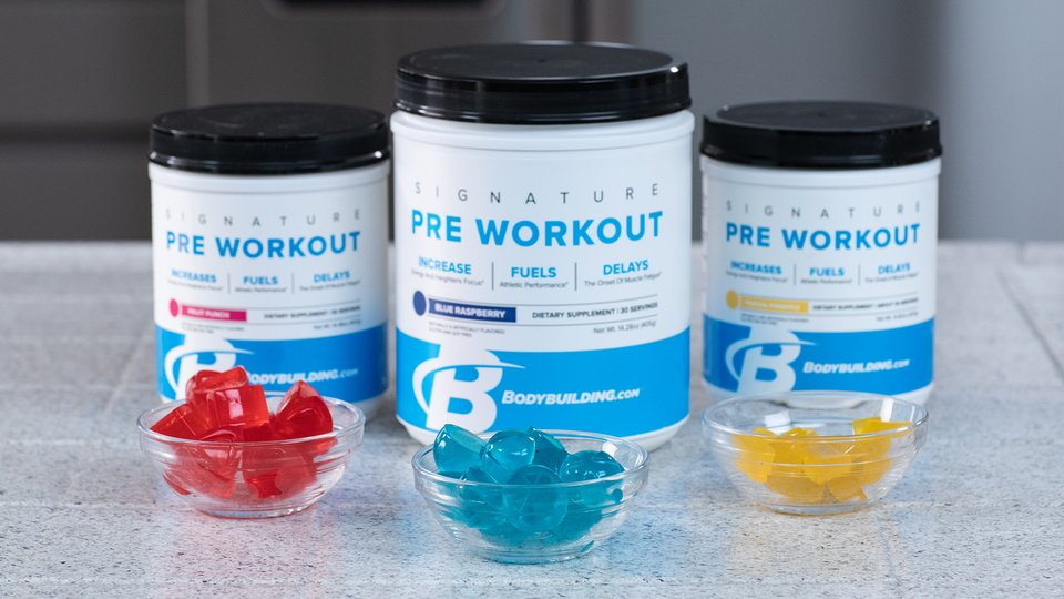 Pre-Workout Gummies