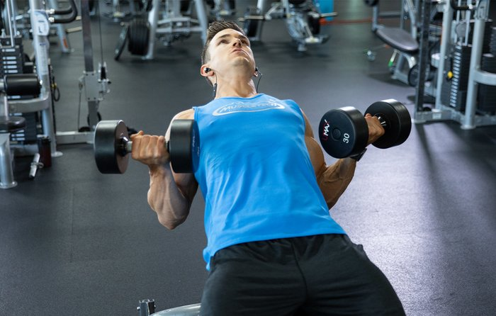 Ultimate Biceps Finisher: Incline Dumbbell Curl