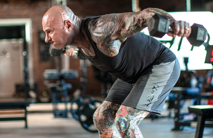The Swap: Bent-Over Dumbbell Lateral Raise