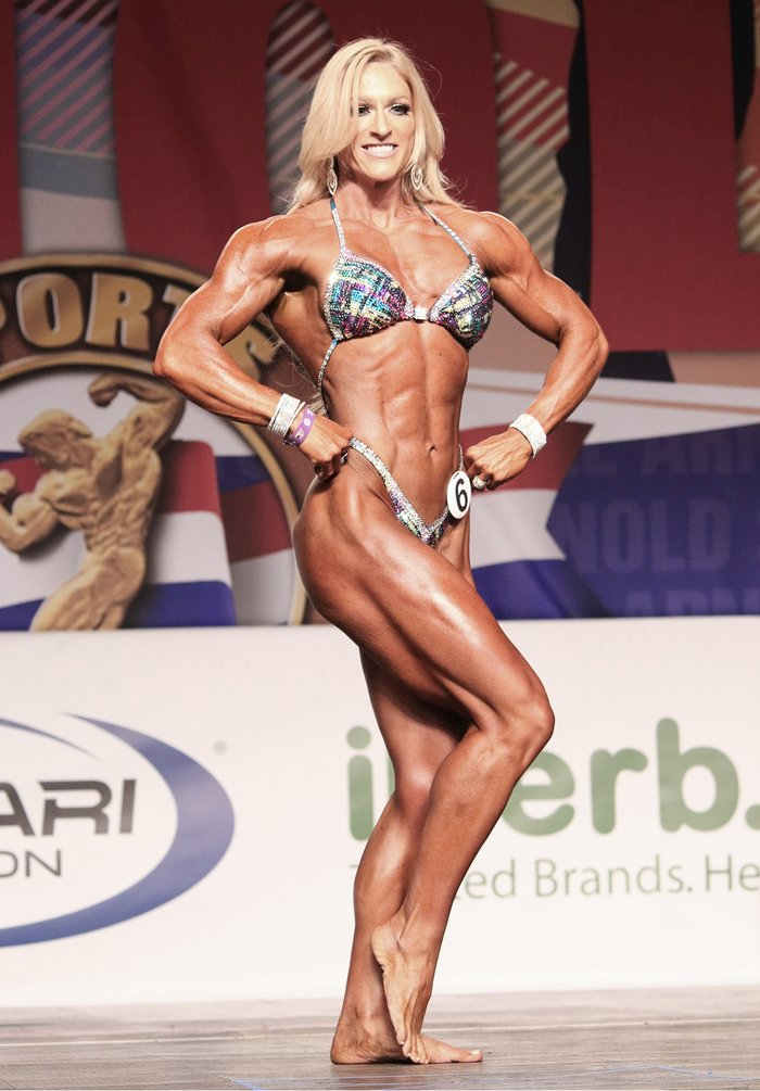 Katherine McLaurin  - arnold amateur results 4 700xh