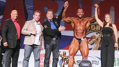 2019 Arnold Amateur Championships Winners