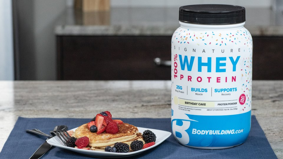 Superb Signature Birthday Cake Protein Pancakes Bodybuilding Com Funny Birthday Cards Online Chimdamsfinfo