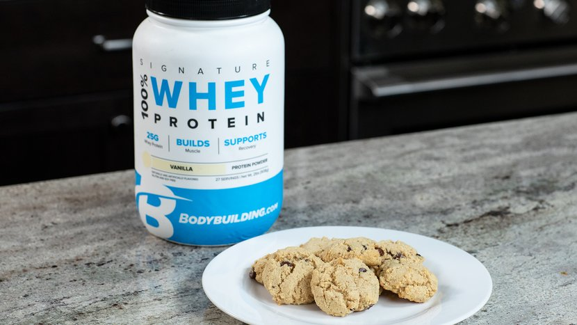 Trademark Delicious Chocolate Chip Healthy Protein Cookies